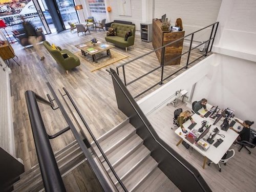 white-painted-walls-and-ceilings-inside-the-Rainmaker-office-in-London